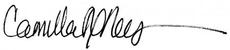 Camilla's Signature